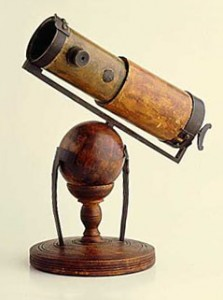 Isaac Newton's homemade telescope